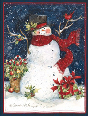 Snowman Christmas Cards - Big Swap USA