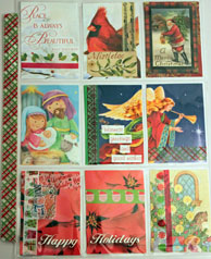 9 Little Pockets - Christmas Cards