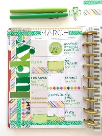 Monthly Planner Kit: March