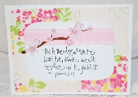 SGG: Handmade notecard with Scripture on #1