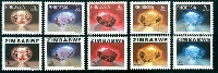 Stamps by Colour