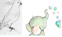 WIYM: ANIMAL ART POSTCARD