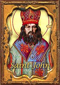 Elvis, Jesus and John ATCs