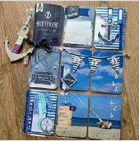 3LP - March Mimi Pocket Letter- Blue