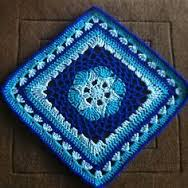 HG ~ Monthly Crocheted Granny Squares, Month #1