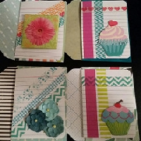WIYM: Index card & washi tape note card-US ONLY