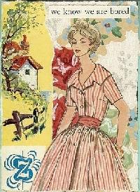 GAA: Vintage Sewing Pattern Illustration