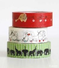 WOW: 🐎 🐑 🐘 Animal Washi Tape Samples 🐟