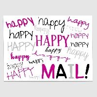 One Stamp Happy Mail (newbie friendly) USA