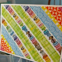 WOW! Washi tape Note Card