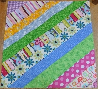 Sew As You Go Striped Block USA only