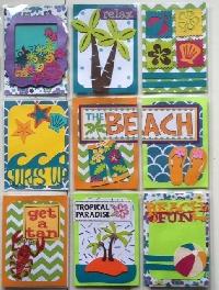 Kids Can too ... Beach Theme ATC