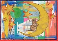 CC: Moon postcard