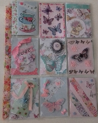 Butterfly Pocket Letter