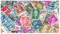 Postage stamps swap- one from each country
