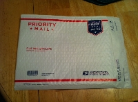 Quick Padded Flat Rate Envelope -USA-