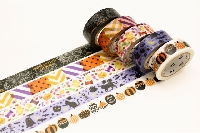 WOW: 👻 🎃 Halloween Washi Samples In July