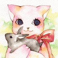 Cat postcard swap