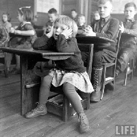 VJP:  Vintage School with a Flashcard