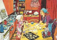 Children's Book Illustration Postcards #24