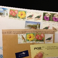 5+ Stamps on Envelope 2017 #3