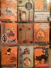 Vintage Halloween Pocket Letter