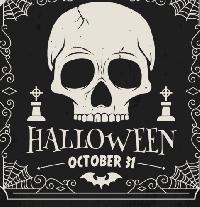 Halloween Themed Kitchen Towel - Sender's Choice
