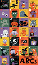 Halloween ABC's #1- 9 Little Pockets