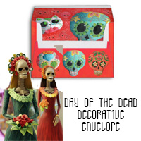 Day of the Dead Decorative Envelope 2017