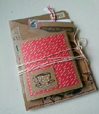 Autumn Envelope Flip Book