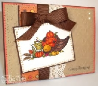 AFWLS-Thanksgiving Handmade Cards Swap