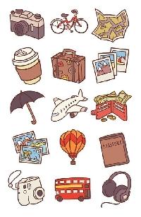 FTLOTN: Swap #3 Travel Themed Flat Envie (INTL)