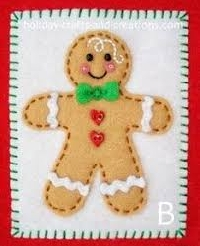 GINGERBREAD MAN ATC +