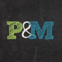 P&M postcards