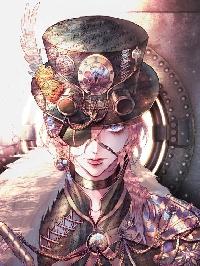 WIYM - Steampunk Postcard