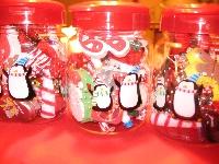 Christmas Whimsy Jar