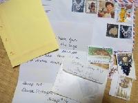Pass on Stamp Bag