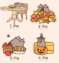USA🍁ATC--Autumn Cat