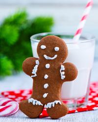 Gingerbread Man/Woman ATC