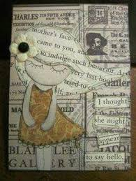 ATC: Newspaper Collage #101