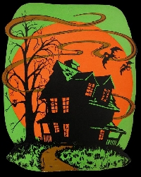 Haunted House ATC