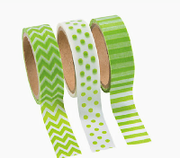 Washi Rainbow! - Green