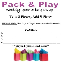 Pack & Play - Goodie Bag Swap #15