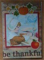 Vintage Thanksgiving ATC