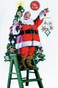 Christmas Postcard - Santa