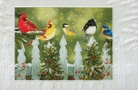 Mega Bird Christmas Card swap