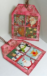 CPG Recycled Holiday Card Tags - US only