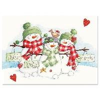 Holiday Greeting Cards - INTL 5 partners Newbie Fr