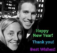 EDITED: New Year Rachel & Travis +1 Partner Card S