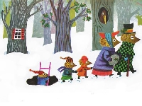 Children's Book Illustration Postcards: Christmas